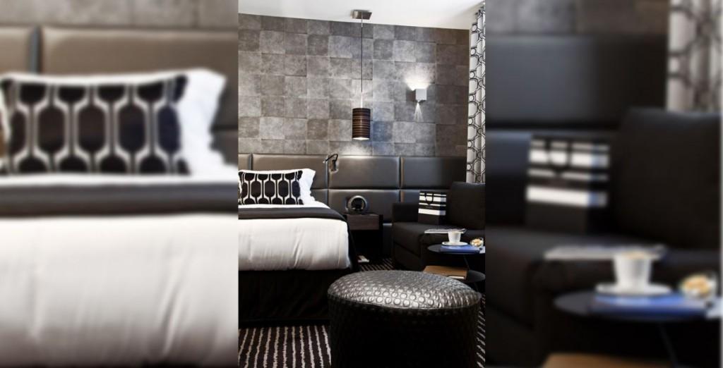 Un hôtel romantique et tout en finesse