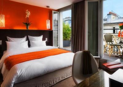 Un hôtel de charme et son jardin caché près de Montmartre