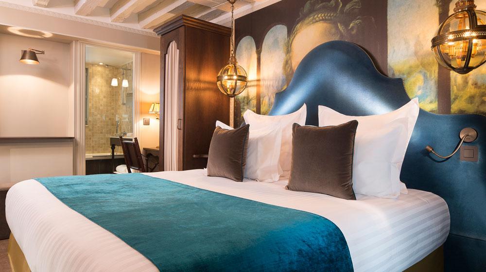 Un hôtel très romantique à Paris : l'Hôtel Da Vinci & Spa Paris