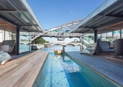 Le 1er hôtel flottant de Paris !