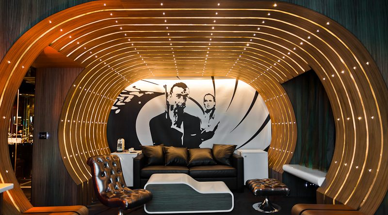 Dormez dans une suite d'Agent Secret, sur le thème de James Bond !